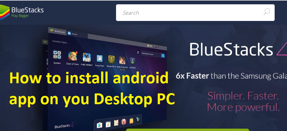 How to install android apps on pc windows – Teach New
